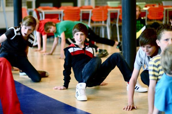 Workshop Breakdance Groepsactiviteit