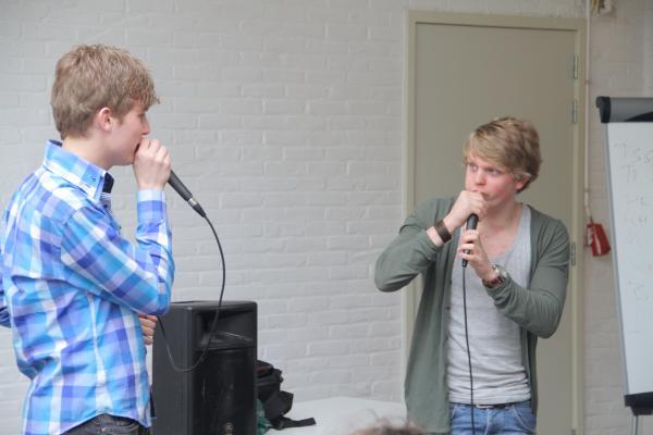 Workshop Beatboxen Groepsactiviteit