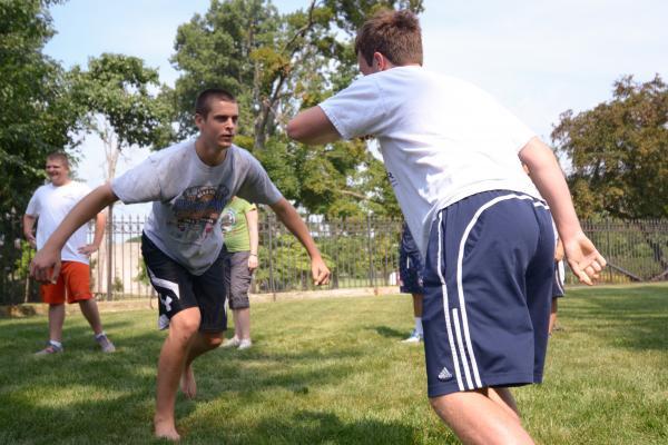 Workshop Capoeira Groepsactiviteit